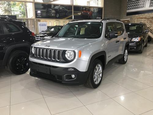 jeep renegade 1.8 sport manual entrega inmediata