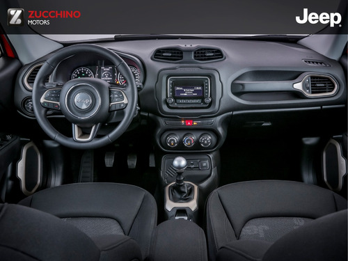 jeep renegade 1.8 sport manual + seguro de regalo | zucchino