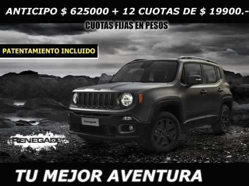 jeep renegade 1.8 sport mt 0km 2019 !!