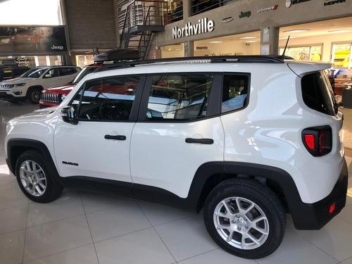 jeep renegade 1.8 sport mt 0km 2020 anticipo plan de ahorro