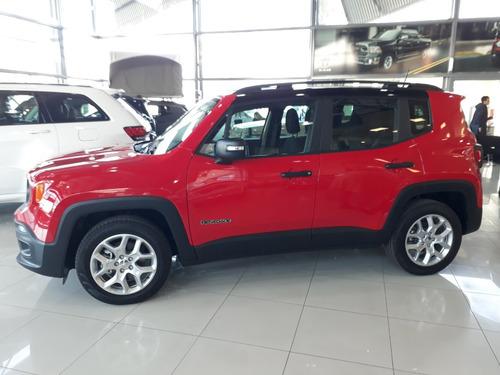 jeep renegade 1.8 sport mt 0km  my2019   linea nueva
