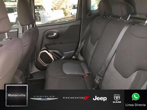 jeep renegade 1.8 sport m/t blanco ¡ entrega inmediata !