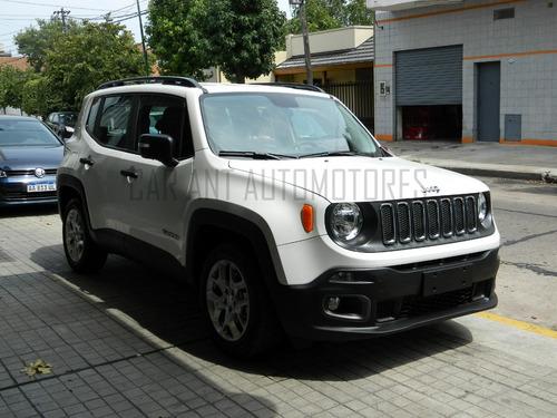 jeep renegade 1.8 sport plus /// 2019 - 0km
