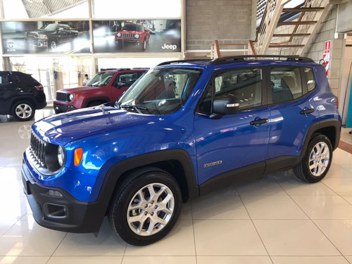 jeep renegade 1.8 sport plus automática 0km financiaciones!