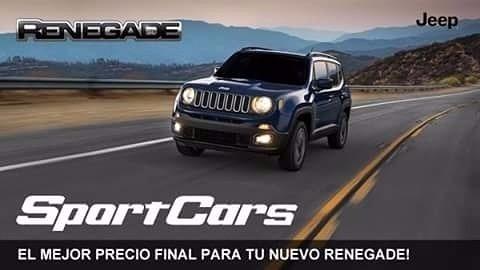 jeep renegade 1.8 sport plus automática 0km sport cars lp