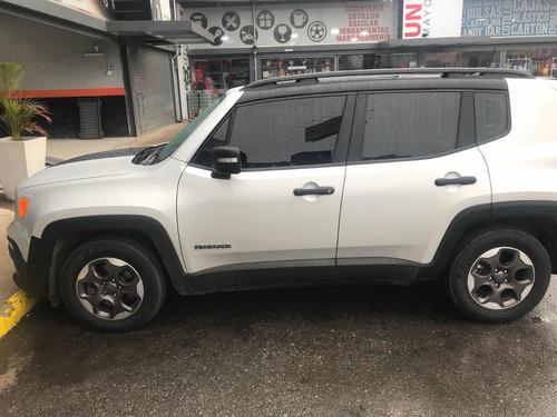 jeep renegade 1.8 sport plus automática 2017 solo 14000 klms