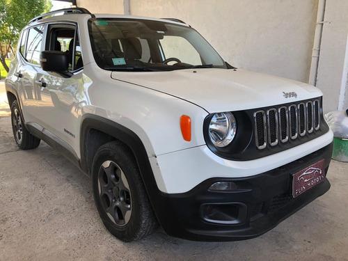 jeep renegade 1.8 sport plus mod16 $600.000 + cuotas fijas.