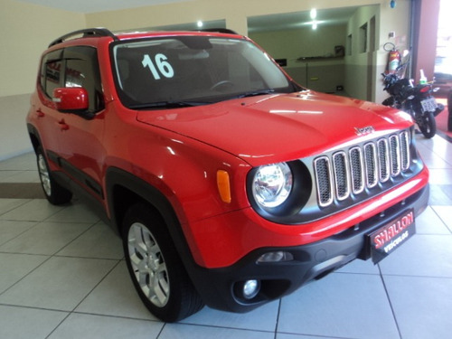 jeep renegade 2.0 longitude 4x4 aut. 5p 2016/2016 vermelho