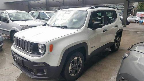 jeep renegade 2017 sport 1.8 m blanca  toda la gama