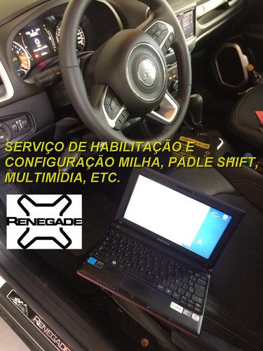 jeep renegade 2019 habilitação neblina paddle proxi bypass