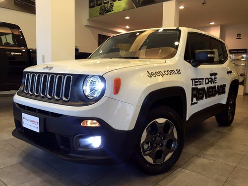 jeep renegade 4x2 1.8 sport ,/ hoy2017 negro, verde , blanco