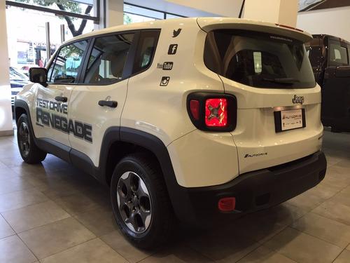 jeep renegade 4x2 1.8 sport , ofertasolocontado efectivo2017