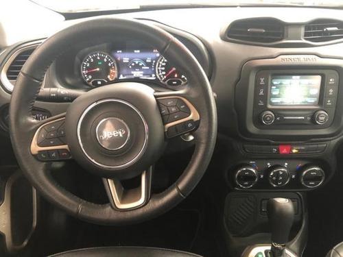jeep renegade  5p latitude ta ba a/ac aut. piel ve ra-18