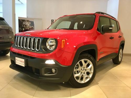 jeep renegade a $243.030 y cuotas