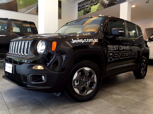 jeep renegade at6 sport 0km oportunidad conc. oficial