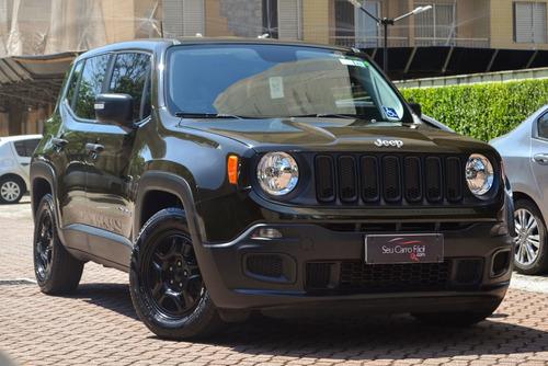 jeep renegade aut. - único dono - garantia de fábrica - 2018