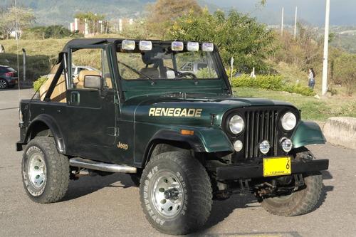 jeep renegade cj7 1986