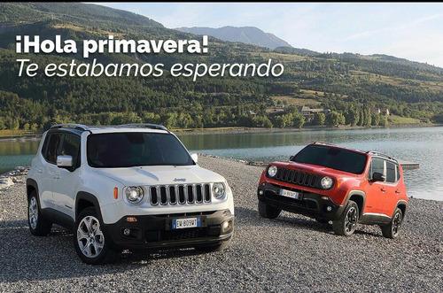 jeep renegade, entrega inmediata, tasa 0% (av)