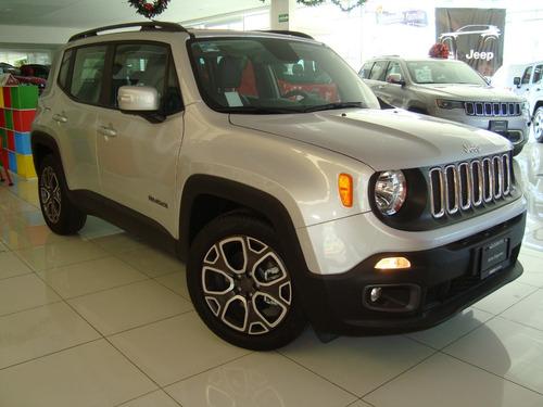 jeep renegade latitude te va emocionar su manejo !!!!