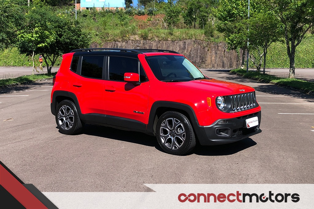 Jeep Renegade Longitude 1 8 16v Flex 2016 R 65 900 Em Mercado