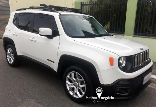 jeep renegade longitude 1.8 4x2 flex aut. 2017 branca