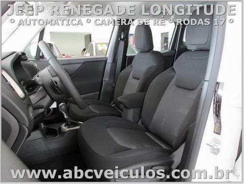 jeep renegade longitude  1.8 flex 17/18 pronta entrega 0520
