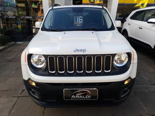 jeep renegade longitude 1.8 flex 2016 branco