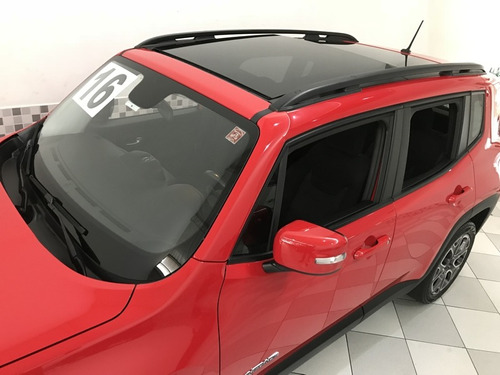 jeep renegade longitude 1.8 flex 2016 vermelho teto solar