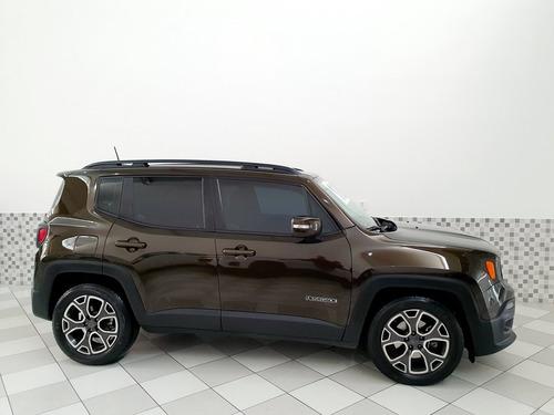 jeep renegade longitude 1.8 flex 2018 marrom automático
