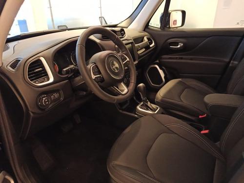 jeep renegade longitude automática color negra. financiala!!