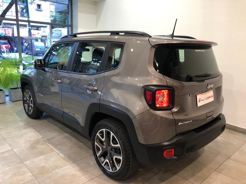 jeep renegade longitude automática financie el 70%