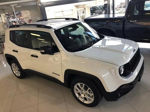 jeep renegade sport 0km plan de ahorro 80/20% 17cts pagas