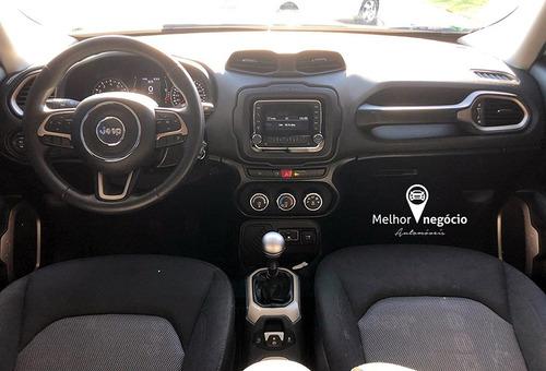 jeep renegade sport 1.8 4x2 flex 2017 prata