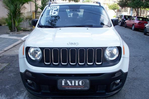 jeep renegade sport 1.8 4x2 flex manual branca 2016