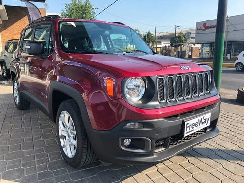jeep renegade sport 1.8 4x2 manual 0km financiado en cuotas