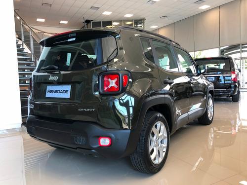jeep renegade sport 1.8 4x2 manual 2018 nueva 0km 2018