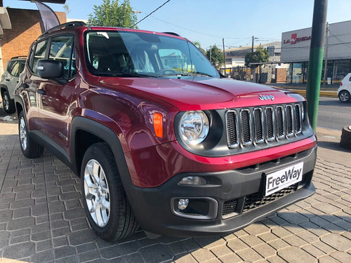 jeep renegade sport 1.8 4x2 manual nueva 2018 0km roja