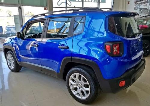 jeep renegade sport 1.8 - anticipo $140.000 o tomamos usados