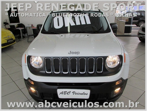 jeep renegade sport 1.8 automatica 17/18 pronta entrega 0768