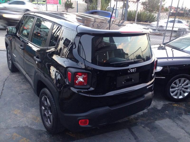 jeep renegade sport 1.8 automatica flex 17/17 0km rosati