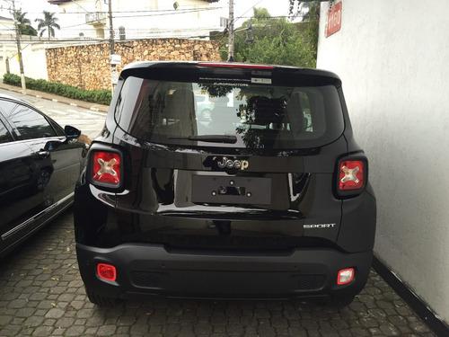 jeep renegade sport 1.8 automatica flex 17/18 0km
