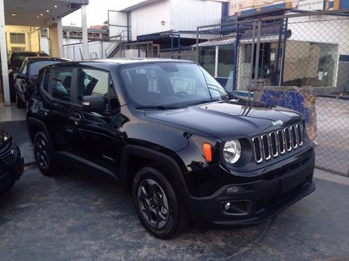 jeep renegade sport 1.8 automatica flex 17/18 0km rosati