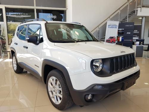 jeep renegade sport 1.8 automatico 0km 2020 nuevo 4x2