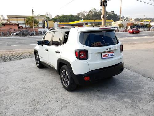 jeep renegade sport 1.8 flex 2016 automático impecável