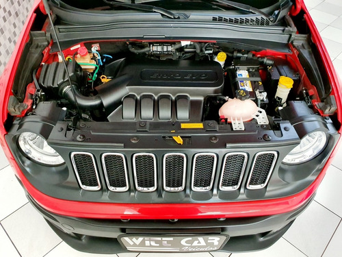 jeep renegade sport 1.8 flex 2016 vermelho automático