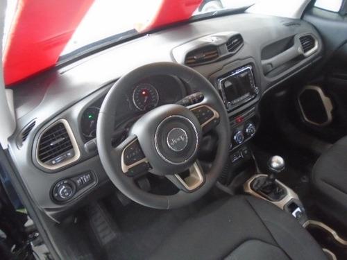 jeep renegade sport 1.8 flex autom. completo aut 0km2018