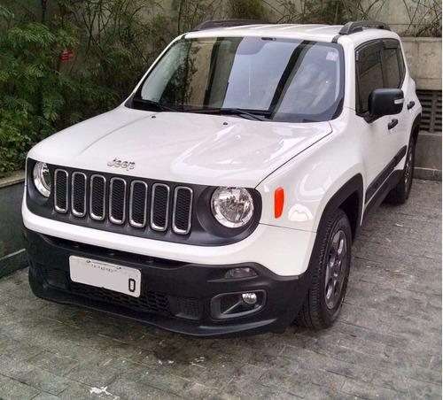 jeep renegade sport 1.8 flex - automático 48.000km