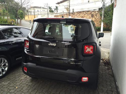 jeep renegade sport 1.8 mec flex 17/18 0km rosati motors