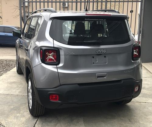 jeep renegade sport 1.8l at6  - financialo hasta en 48 meses