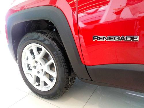 jeep renegade sport 1.8l at6  - tu usado en parte de pago